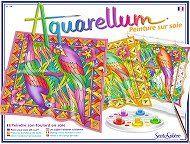 MALOWANIE NA JEDWABIU - AQUARELLUM - SENTOSPHERE - Buy4Kids - zestawy kreatywne dla dzieci
