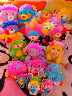 Popples! OMG!! I use to LOVE this show and of course had the stuffed animals to snuggle with!
