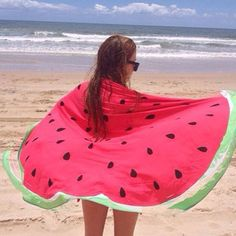 150cm Donut Pizza Pineapple Printing Thin Dacron Beach Towel Shawl Bed Sheet Tapestry
