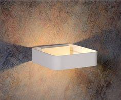 Aplique LED en aluminio Hole - blanco