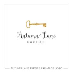 This listing is for a customizable pre-made Watercolor Skeleton Key Logo. Put your company's name on it today!