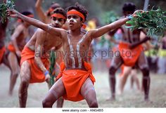 Aboriginal boys dancing in a festival, northern Queensland, Australia Photo: Paul Dymond/Alamy Aboriginal Children, Aboriginal Dreamtime, Aboriginal Education, Indigenous Education, Aboriginal History, Aboriginal Culture, Aboriginal People, Indigenous Art, Aboriginal Painting