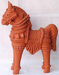 Terracotta sculpture of Bankura,West Bengal