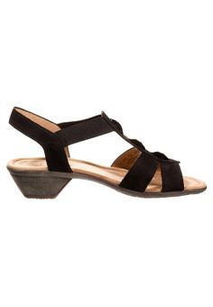 Gabor Sandalen - Zwart - Zalando.nl Espadrilles, Sandals, Shoes, Fashion, Espadrilles Outfit, Slide Sandals, Moda, Shoes Sandals, Zapatos