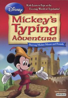 Disney's Mickey's Typing Adventure on CD-ROM