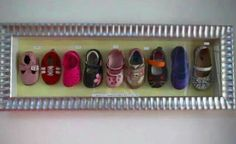 Love this for my grand daughters and the shoes I put in will have been worn by both of them!