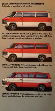 Gm Trucks, Chevy Trucks, Station Wagon, Chevrolet Van, Gmc Vans, Vintage Cars, Vintage Auto, Vanz, Cool Vans