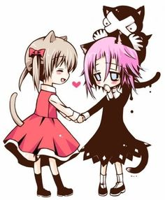 Soul eater Crona and Maka