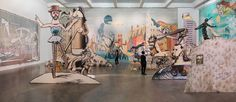 "Jim Shaw, ""The End is Here,"" 2015, installation view, at New Museum. MARIS HUTCHINSON/EPW STUDIO"