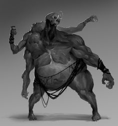 ArtStation - Monster Sketches, John Thacker