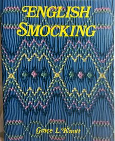 English Smocling Book By Grace L. Knott by KatieandClaires on Etsy