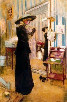 Charlotte Lyses-c.1912 by Edouard Vuillard