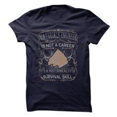 Materials Engineer Is Not A Career T Shirt, Hoodie, Sweatshirt