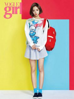 Girl's Day Hye Ri - Vogue Girl Magazine April Issue Lee Hyeri, Girl's Day Hyeri, Kpop Girl Groups, Korean Girl Groups, Kpop Girls, Korean Women, South Korean Girls, Asian Woman, Asian Girl