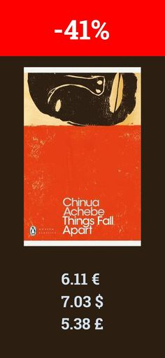 Your next read should be Things Fall Apart. Definitely a great book.  Chinua Achebe was born in Nigeria in 1930. He was raised in the large village of Ogidi, one of the first centers of Anglican missionary work in Eastern Nigeria, and was a graduate of University College, Ibadan. His early career in radio ended abruptly in 1966, when he left his post as Director of External Broadcasting in Nigeria during the national upheaval that led to the Biafran War. Achebe joined the Biafran Ministry of…