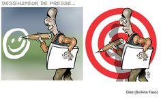 """L'hommage des """"caricaturisques"""" africains à Charlie Hebdo"""