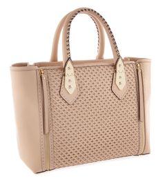 A-List Woven Satchel   Handbags   Henri Bendel