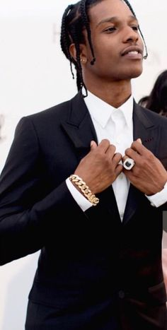 Hip Hop Jewelry, Custom Bubble Letters, Iced Out Jewelry, Gold Grillz Beautiful Boys, Pretty Boys, Beautiful People, Black Boys, Black Men, Asap Rocky Wallpaper, Asap Rocky Fashion, Fashion Killa, Mens Fashion