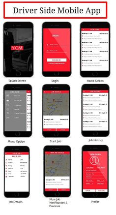 We, at Your Cab Manager, offers best taxi application development services. We develop taxi app for both passenger side and driver side. Web Design, App Ui Design, Mobile App Design, Mobile Ui, Graphic Design, Driver App, Cab Driver, Application Design, Application Development