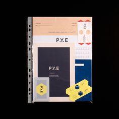 P.Y.E Identity on Behance