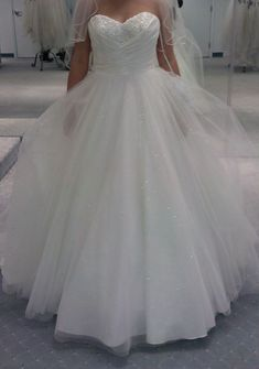 Alfred Angelo Disney Fairytale Wedding Dress Cinderella style 205  Love this one