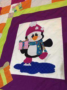 Pingüino para Niños oso polar iglú Manta Tejer patrón