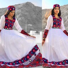 Sindhi Dress, Navratri Dress, Simple Pakistani Dresses, Pakistani Dress Design, Afghani Clothes, Balochi Dress, Afghan Dresses, Stylish Dresses For Girls, Indian Designer Outfits