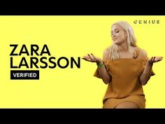 "(7) Zara Larsson ""Lush Life"" Official Lyrics & Meaning 