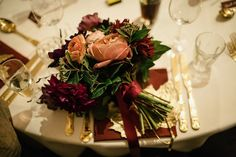 A Halfpenny London Gown for a 'Boho Luxe' Autumn Wedding in Leafy London