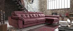 #Sofá con Chaiselongue GAME de #Acomodel http://www.aristamobiliario.es/sofas-salon-comedor/952-sofa-game-deslizante-arcon-acomodel.html