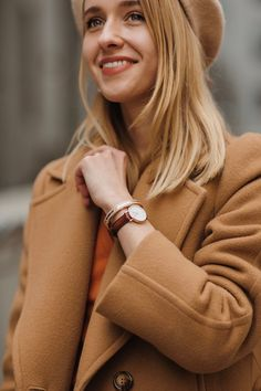 Street style by Anna Pogribnyak: Daniel Wellington cuff bracelet Daniel Wellington Cuff, Anna, Street Style, Bracelet, Outfits, Fashion, Moda, Suits, Urban Style