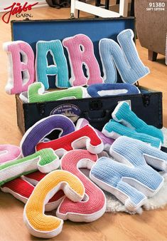 Free pattern: crochet the alphabet!:
