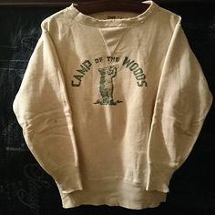 #両v #oneita #campofthewoods #vintagesweat #vintagesweatshirt