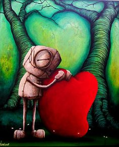 Fabio Napoleoni - I discovered this artist on a road trip to Santa Fe... he does this art in the name of his daughter and it is amazing!