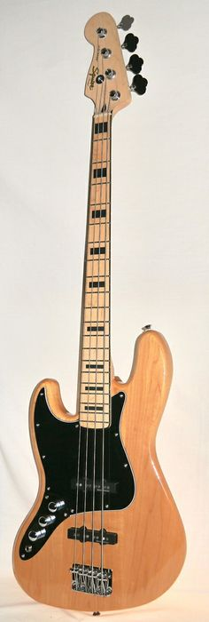 Indian Creek Guitars - Squier Vintage Modified 70's Jazz Bass - Natural - Left Handed, $239.00 (http://www.indiancreekguitars.com/squier-vintage-modified-70s-jazz-bass-natural-left-handed/)