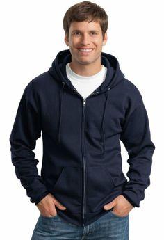 Port & Company Classic Full Zip Hooded Sweatshirt