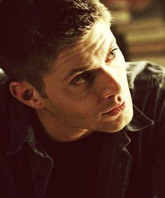 Dean Winchester  ...looks like some natural light to me...so pretty