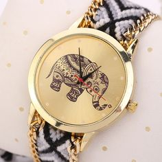 $2.00 (Buy here: https://alitems.com/g/1e8d114494ebda23ff8b16525dc3e8/?i=5&ulp=https%3A%2F%2Fwww.aliexpress.com%2Fitem%2F1pc-Women-Elephant-Pattern-Weaved-Rope-Band-Bracelet-Quartz-Dial-Wrist-Watch-Wholesale-Free-Shipping%2F32309442283.html ) Women Vintage Weaved Rope Braided Bracelet Watches Ladies Quartz Watch Fashion Elephant Printed Female Clock Wristwatches for just $2.00