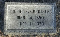 Thomas G Caruthers