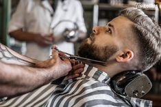 Barber Shop Pictures, Short Hair Cuts, Short Hair Styles, Barber Man, Native American History, American Art, Awesome Beards, Hair And Beard Styles, Cut And Style