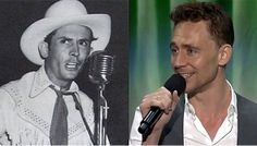 Hey, Good Lookin': Tom Hiddleston To Play Hank Williams. Not a Hank fan but this should be interesting. I'd watch it.
