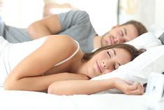 Ad: Couple sleeping in a comfortable bed.jpg by AntonioGuillem Photo on Happy couple sleeping in a comfortable bed at home Snoring Remedies, Insomnia Remedies, Natural Sleep Remedies, Couple Sleeping, Couple Bed, Sleep Deprivation, Feel Tired, Cortisol, Good Night Sleep