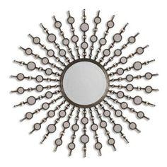 Kimani Antique Silver Mirror