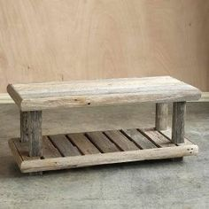 Shut Up! Barnwood Bench OMG!