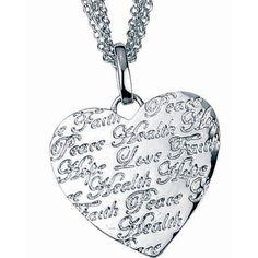 Herzkette als Schmuck Geschenk