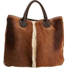 CO-OP BARNEYS NEW YORK Gazelle Tote $610.00 Bet this one is quite soft, but I wouldn't go around killing gazelles for it.
