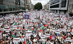 Why British people are protesting about Gaza, not Iraq