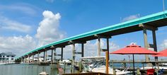 Fort Myers Beach Bridge. Click the image to watch the video of me driving over it. Cheers!    #Travel #SWFL