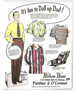 """DRESS UP DAD 