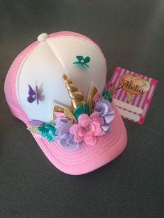 Gorras unicornio Abilia Shopping Whatsapp 3132196957 Unicorn Birthday Parties, Unicorn Party, New Crafts, Diy And Crafts, Diy For Kids, Crafts For Kids, Girl Birthday Decorations, Unicorn Headband, Unicorn Crafts